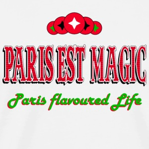 PARIS FLAVOURED LIFE - T-shirt Premium Homme