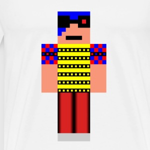 minecraft man - Men's Premium T-Shirt