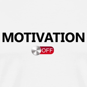 motivation Off - Herre premium T-shirt