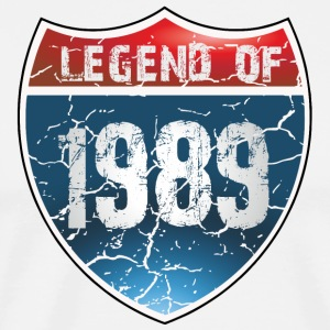 Legend Of 1989 - T-shirt Premium Homme