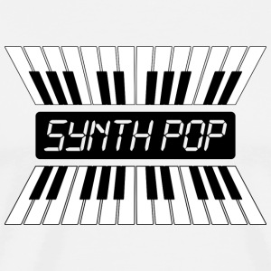 Synthpop MUSIC (2) - Premium T-skjorte for menn