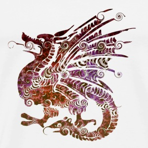 Dragon motif - Men's Premium T-Shirt