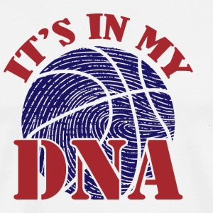 basket-DNA - Premium-T-shirt herr