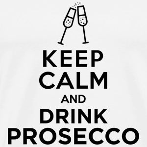 keepcalm prosecco black - Men's Premium T-Shirt