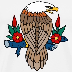 Bald eagle - Herre premium T-shirt