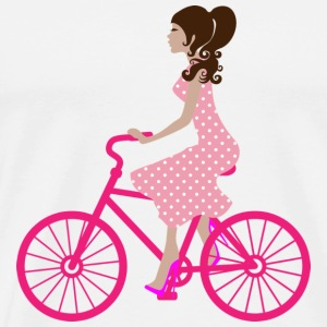 Pink bicycle - Men's Premium T-Shirt