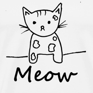 Cat Love - Meow - Men's Premium T-Shirt