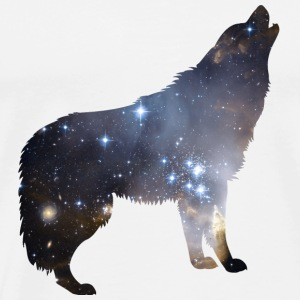 Wolf Galaxy - Men's Premium T-Shirt