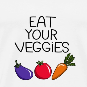 Eat your Veggies - Men's Premium T-Shirt