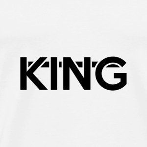 KING with line shirt