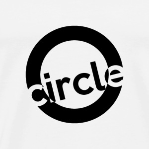 Circle shirt in a simple style