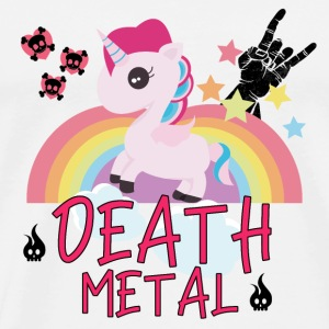 Death Metal Unicorn Rainbow hevonen lahja hame
