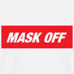 MASK OFF klassiska - Premium-T-shirt herr