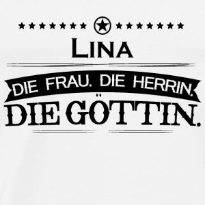 birthday goettin lina62 - Men's Premium T-Shirt