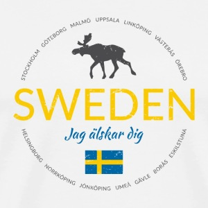"Sweden button (""Sweden - I love you"")"