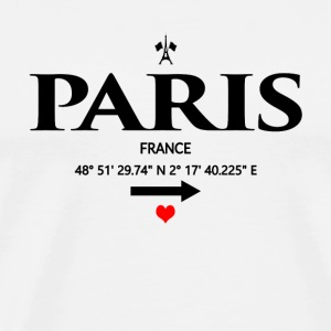 Paris - France - T-shirt Premium Homme