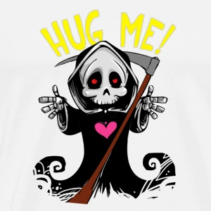 Funny Comic Gothic Death Metal - Hug Me T-Shirt - Men's Premium T-Shirt