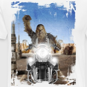 rebel_wookie_color - Camiseta premium hombre