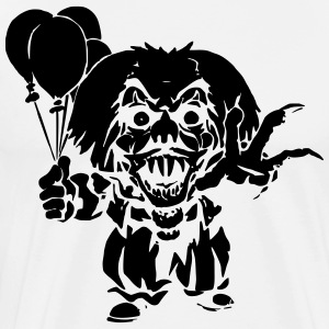 Horror Clown - Men's Premium T-Shirt