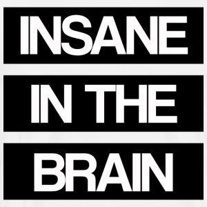 Insane in the Brain old school - Männer Premium T-Shirt