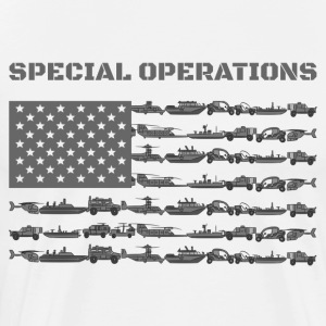 Special Operations Amerika flag - Herre premium T-shirt