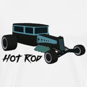 Hot Rod minnaar v1 - Mannen Premium T-shirt
