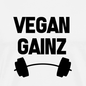 Vegan Gainz Fitness Vegetable Vegan Gift Animals