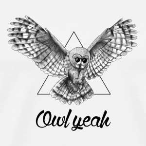 Owl Yeah - Men's Premium T-Shirt