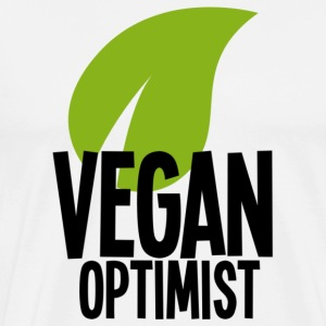 Vegan optimist - Men's Premium T-Shirt