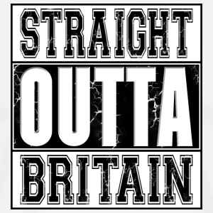 Straight Outta Britain 002 AllroundDesigns - Men's Premium T-Shirt