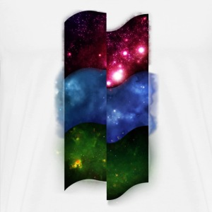 Tripple Space Pattern - Men's Premium T-Shirt