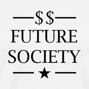 Future Society - Premium T-skjorte for menn