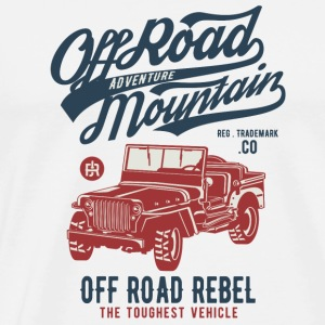 Off Road Jeep - Mannen Premium T-shirt