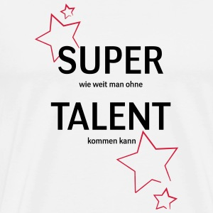 super talent - T-shirt Premium Homme
