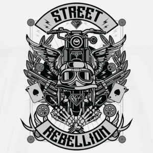 Rue Motorcycle Rebellion - T-shirt Premium Homme