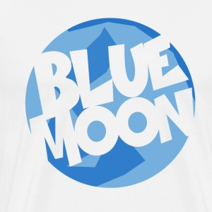Blue Moon - Premium T-skjorte for menn