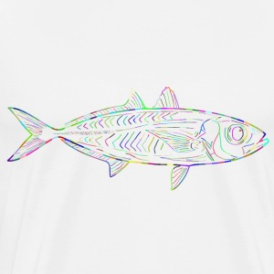 Glowfish - Herre premium T-shirt