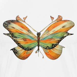 Big butterfly colored - Men's Premium T-Shirt