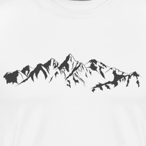 The mountains - Men's Premium T-Shirt