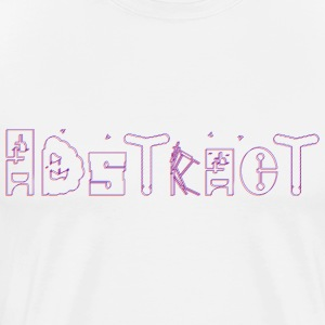 Abstract_finished - T-shirt Premium Homme