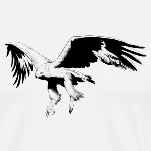 eagle design - Men's Premium T-Shirt