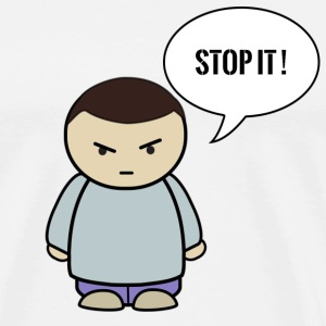 STOP IT - Mannen Premium T-shirt