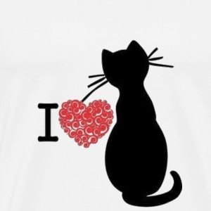 Cats shirt with heart
