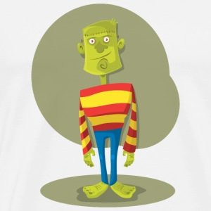 Frankenstein Monster - Premium T-skjorte for menn