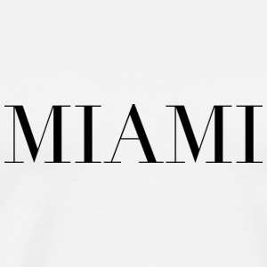 Miami - Premium T-skjorte for menn