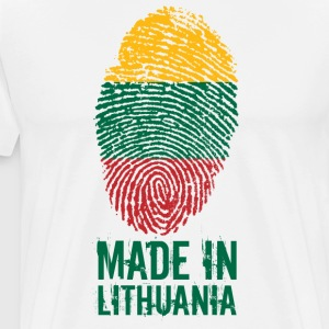 MADE IN LITHUANIA / Made in Lithuania Lietuva - Men's Premium T-Shirt
