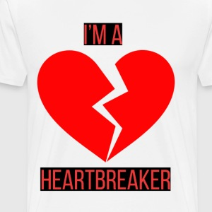 Heartbreaker Edition - Premium T-skjorte for menn