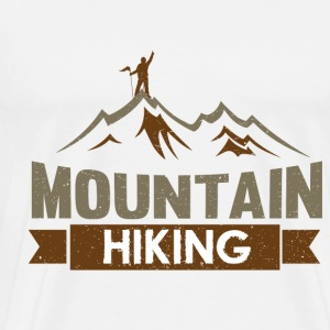 Mountain HIKING - Men's Premium T-Shirt