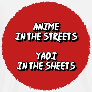 Yaoi in the streets! - Men's Premium T-Shirt