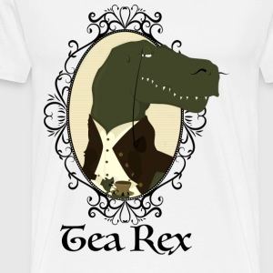 Tea Rex - Premium T-skjorte for menn